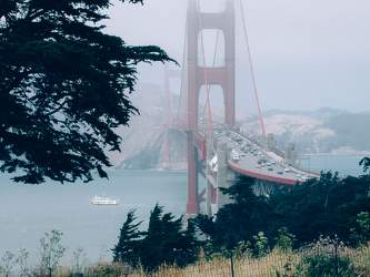 JUN 2006: Golden Gate, San Francisco, Kalifornien