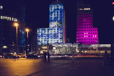OKT 2010: Festival of Lights, Mitte, Potsdamer Platz