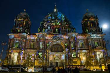 OKT 2010: Festival of Lights, Berliner Dom, Lustgarten, Mitte, Museumsinsel