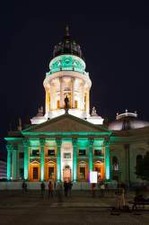 OKT 2010: Festival of Lights, Deutscher Dom, Gendarmenmarkt, Mitte