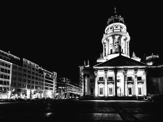 OKT 2015: Festival of Lights, Deutscher Dom, Gendarmenmarkt, Mitte