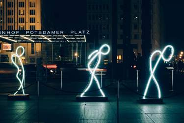 OKT 2016: Festival of Lights, Mitte, Potsdamer Platz