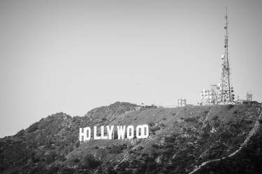 FEB 2017: Hollywood Sign, Griffith Park, Los Angeles