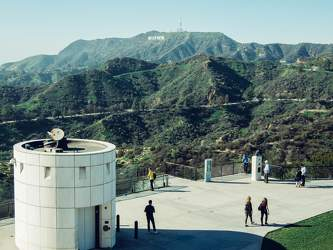 FEB 2017: Hollywood Hills, Griffith-Observatorium, Los Angeles