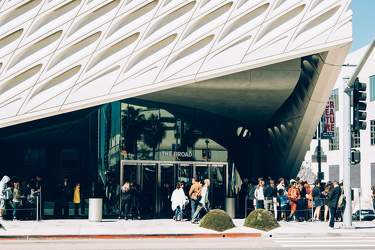 FEB 2017: The Broad, Downtown Los Angeles, Los Angeles