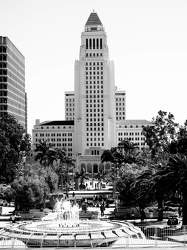 FEB 2017: Los Angeles City Hall, Downtown Los Angeles, Los Angeles